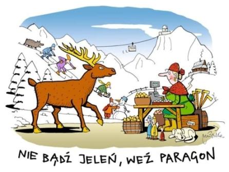 Kasy fiskalne a jelenie – zimą 2013 roku